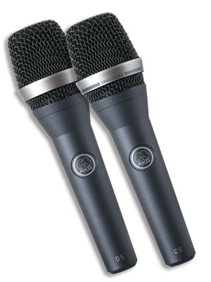 AKG D5 and C5 Handheld Microphones