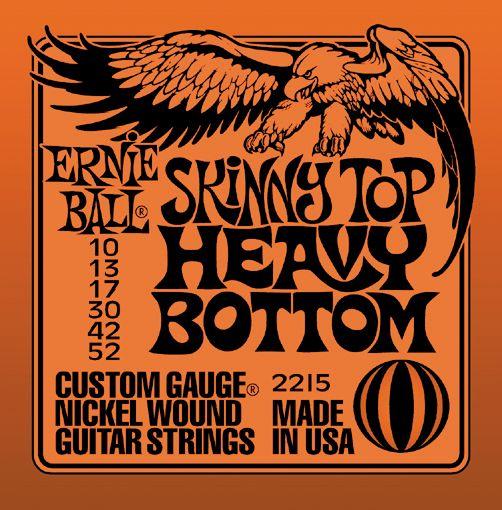 ernie ball 2215 nickel skinny top heavy bottom electric guitar strings musician 39 s friend. Black Bedroom Furniture Sets. Home Design Ideas