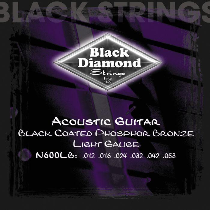 black diamond light gauge black coated phosphor bronze. Black Bedroom Furniture Sets. Home Design Ideas