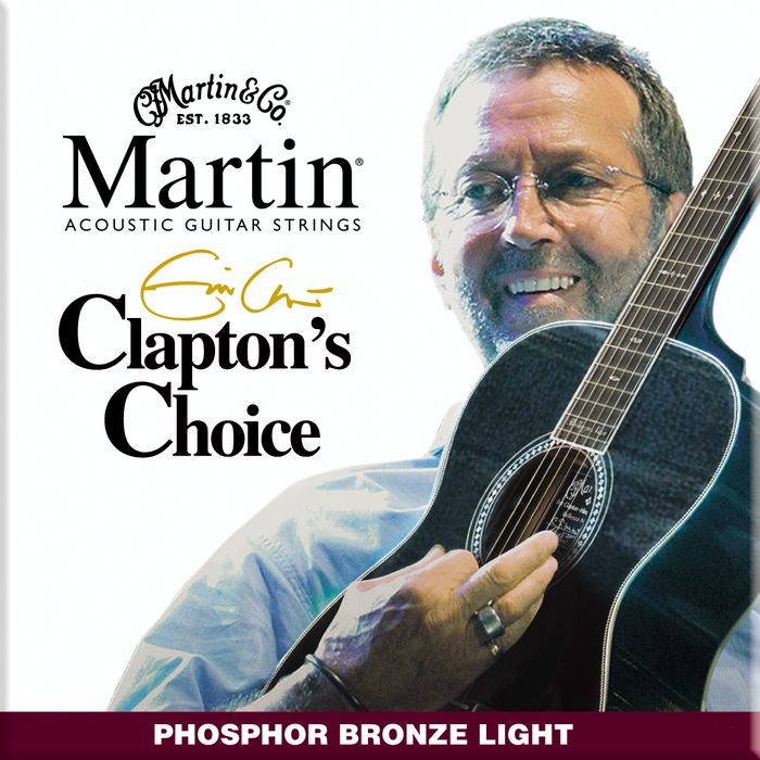 Martin MEC12 Clapton's Choice Phosphor Bronze Light