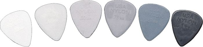 Dunlop Nylon Standard Guitar Pick .60MM 1 Dozen