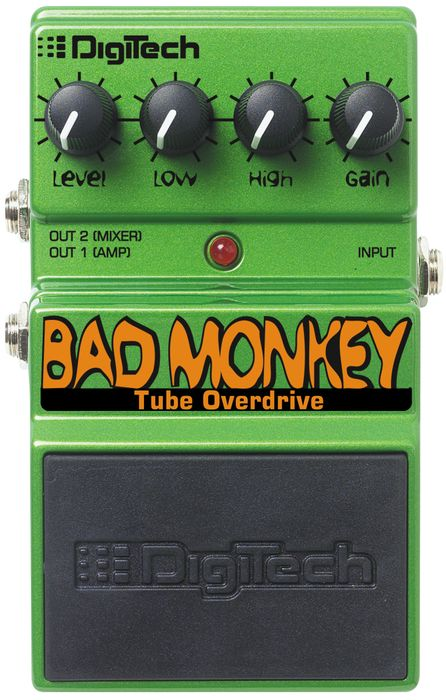 Digitech Dbm Bad Monkey Overdrive Guitar Effects Pedal - Free Delivery from Musicians Friend