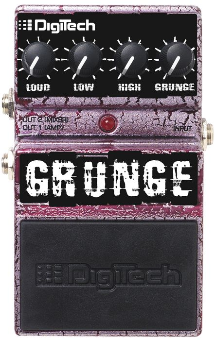 Digitech Grunge Distortion Guitar Effects Pedal - Free Delivery from Musicians Friend