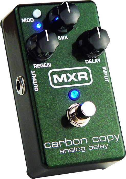MXR M169 Carbon Copy Analog Delay Guitar Effects Pedal  Right-facing