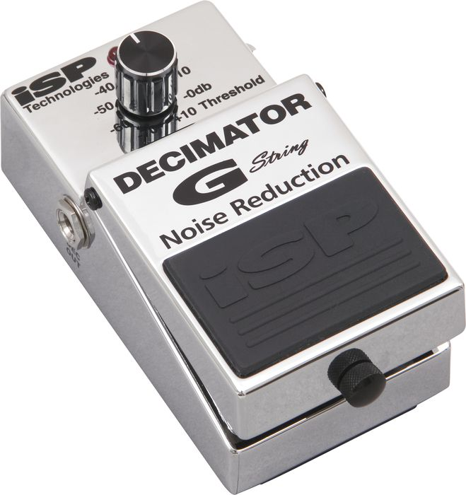 Isp Technologies Decimator G String Noise Reduction Effect Pedal