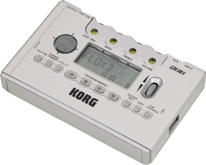 Korg Pandora Px5d Guitar Multi Effects Processor Silver