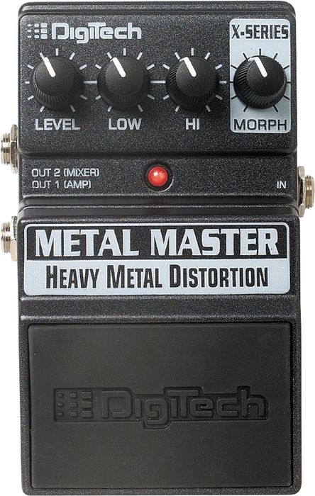 Digitech Xmm Metal Master Heavy Metal Distortion Pedal