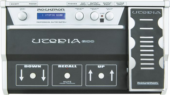 Rocktron Utopia G100 Guitar Multi Effects Pedal