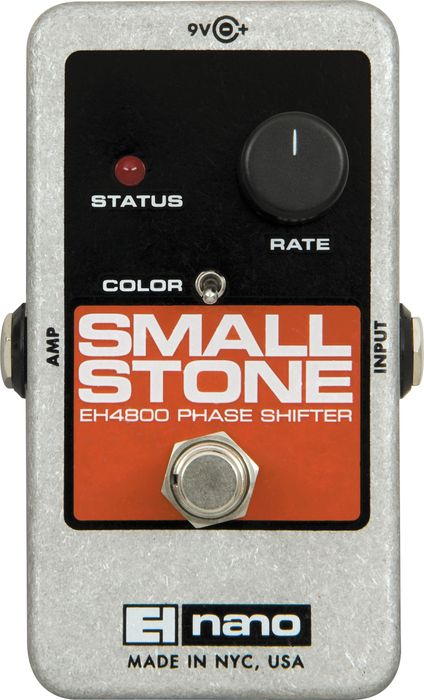 Electro-Harmonix Nano Small Stone Phase Shifter Guitar Effects Pedal - Cheap at Musicians Friend