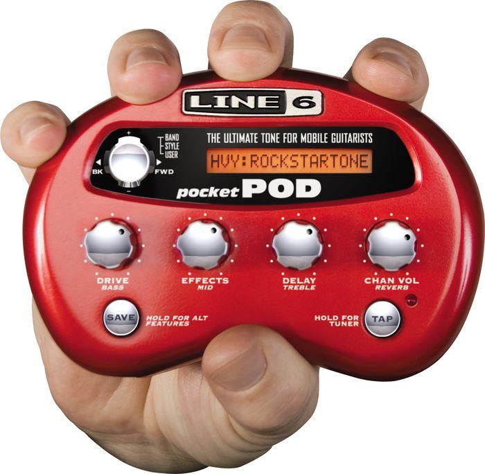 Line 6 Pocket Pod Guitar Multi Effects Processor