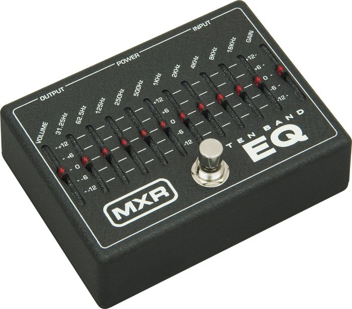 Mxr M-108 Ten Band Graphic Eq - Buy at Musicians Friend with Free Shipping.