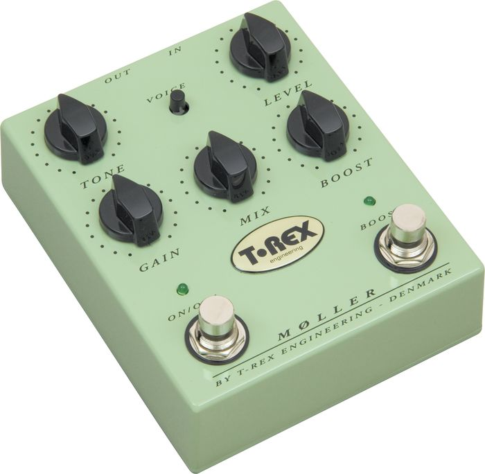 T-Rex Engineering Moller Overdrive and Clean Boost Guitar Pedal
