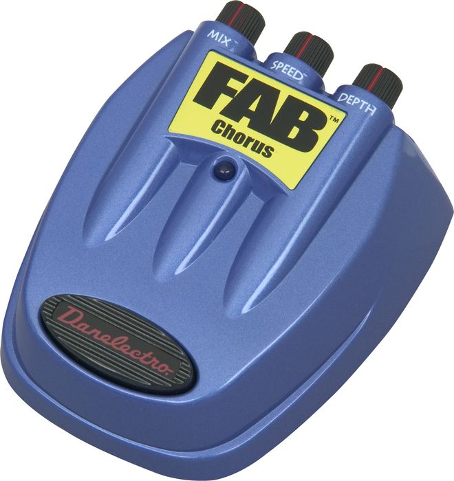 Danelectro Fab Chorus Guitar Effects Pedal - Cheap at Musicians Friend