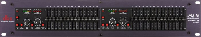 dbx iEQ-15 Graphic EQ