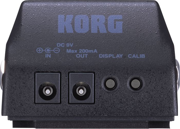 Korg Pitchblack Back Inputs & Outputs