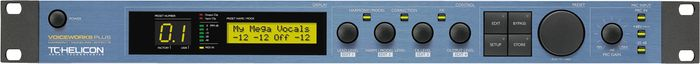 TC Helicon VoiceWorksPlus Vocal Harmony, Modeling and Effects Processor