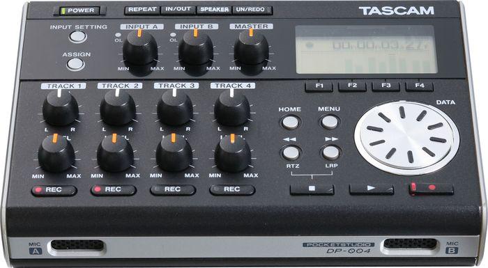 Tascam Dp-004 Pocketstudio Portable 4-Track Digital Recorder