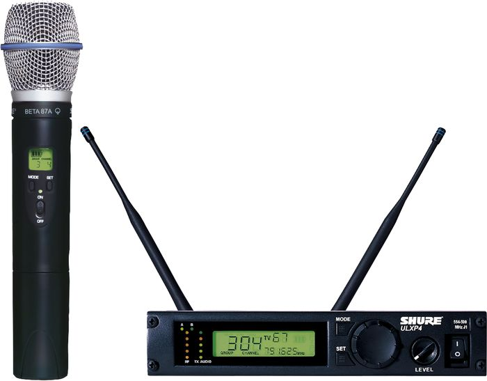 Shure Ulxp24/Beta87a Handheld Wireless Microphone System M1