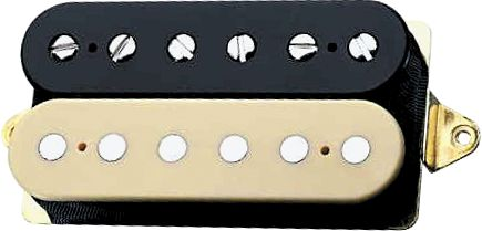 DiMarzio DP211/DP212 EJ Custom Pickup Black & Creme Neck