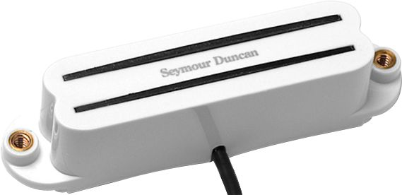 Seymour Duncan SHR-1 Hot Rail Stacked Single Coil Pickup White Neck