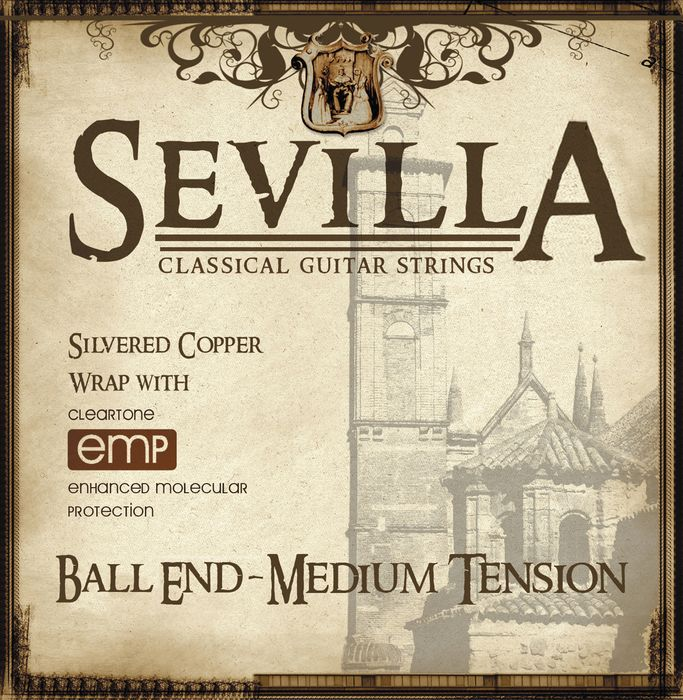 Sevilla Classical Guitar Strings Ball End EMP-Coated Classical Guitar Strings