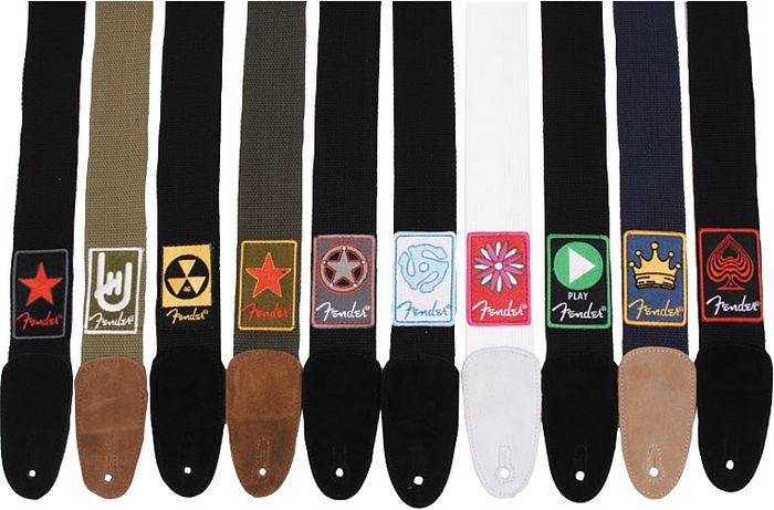Fender Patchworks Cotton Guitar Strap