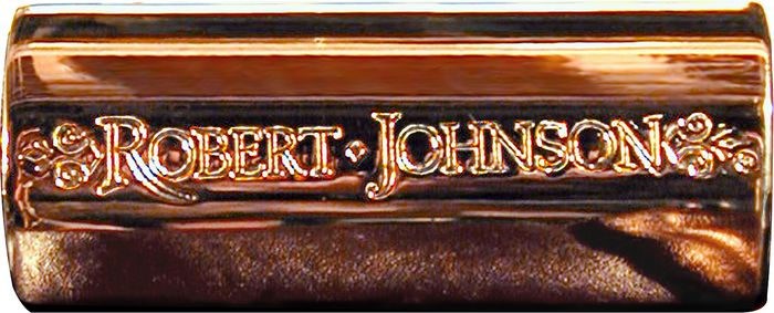 BigHeart Robert Johnson Legacy Bronze Slide  Large