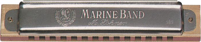 Hohner 365 Steve Baker Special Harmonica Key Of A