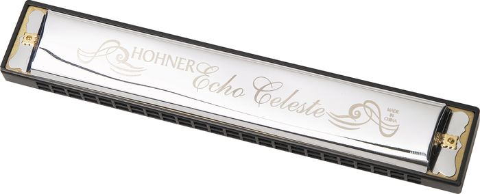 Hohner 455 Echo Celeste Tremolo Harmonica  Key of C