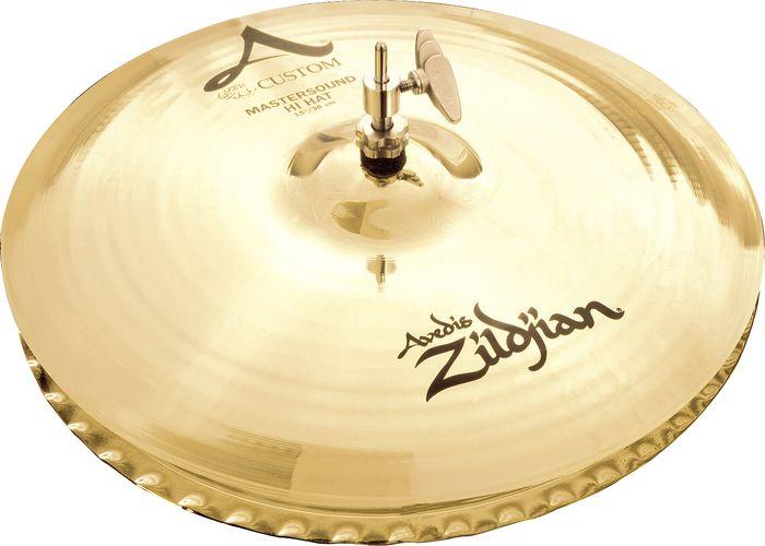 Zildjian A Custom 12-Inch Mastersound Hi-Hat Cymbals
