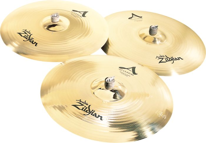 Zildjian A Custom Medium Ride Cymbals