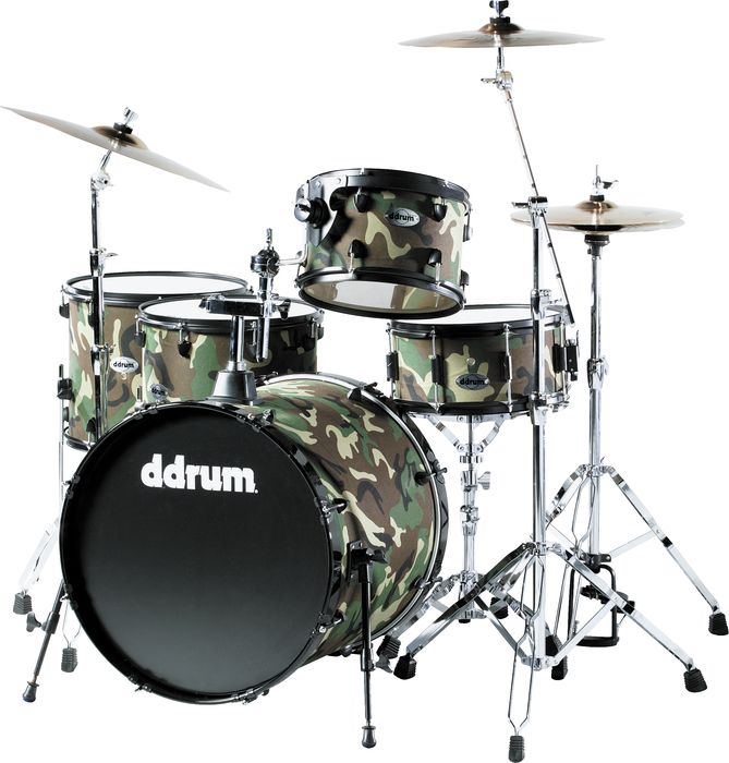 ddrum Diablo Combat Punx 5-Piece Drum Set