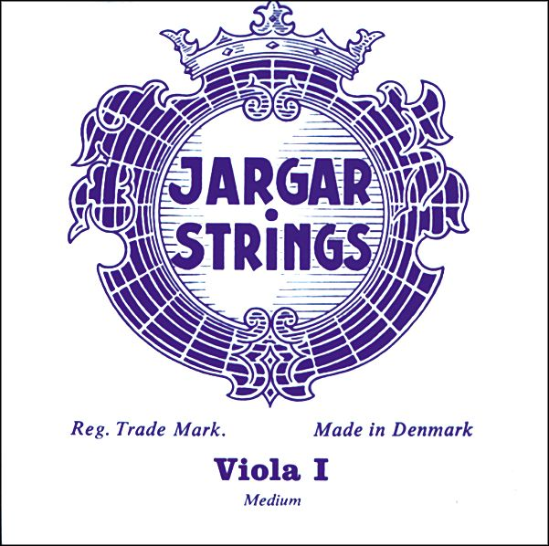 Jargar Viola Strings A Loop End, Forte 15+ Inch