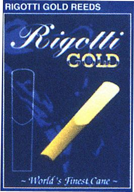 Rigotti Gold Alto Saxophone Reeds Strength 3.5 Medium