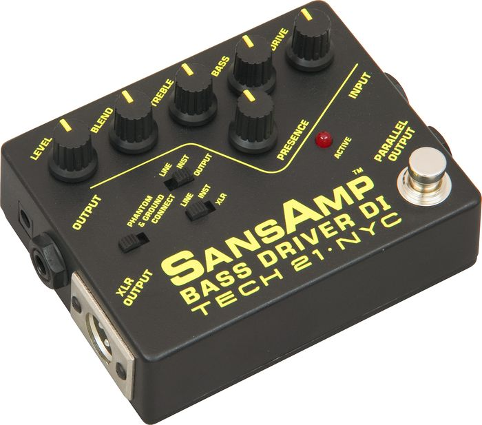 Hands-On Review: Tech 21 SansAmp Bass Drivers