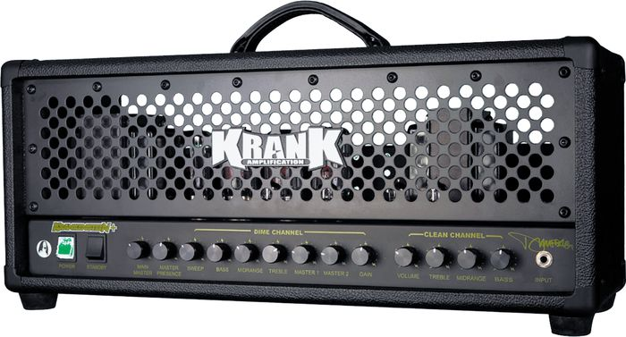 Krank Krankenstein + Krpbk00 120W Tube Guitar Amp Head