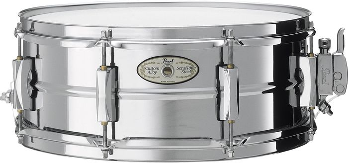 Pearl Vision SensiTone Steel Snare Drum