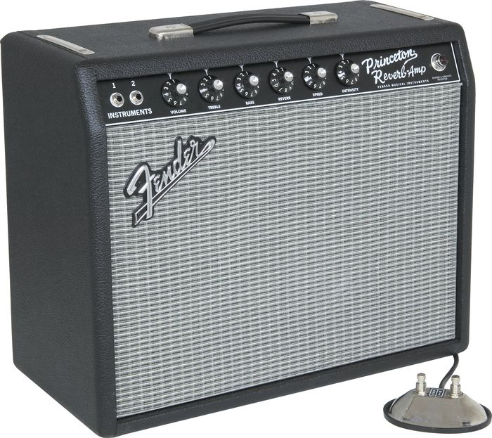 Fender '65 Princeton Reverb A/B Switch