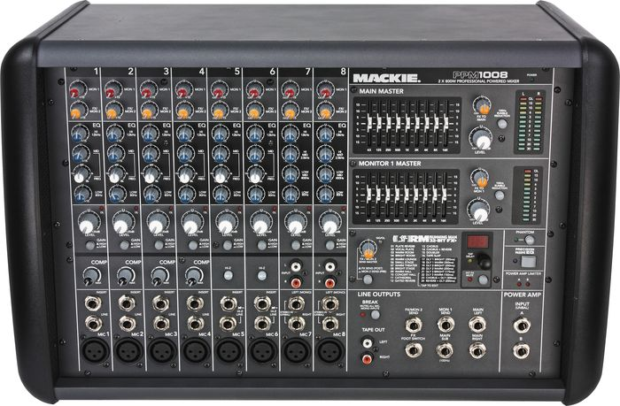 Hands-On Review: Mackie PPM1008 Professional Powered Mixer
