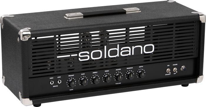 Soldano Avenger 50W Tube Guitar Amp Head Black