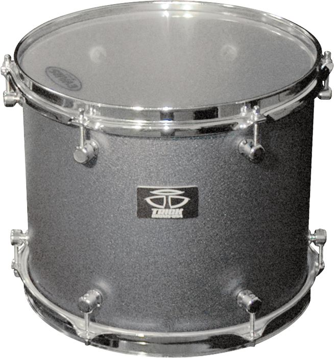 Trick Drums AL13 Tom Drum 8X10 Black Cast