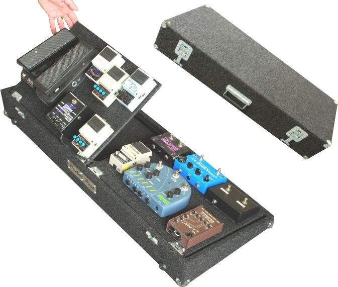 Pedal Pad AXS-XL Guitar Effects Pedalboard Charcoal