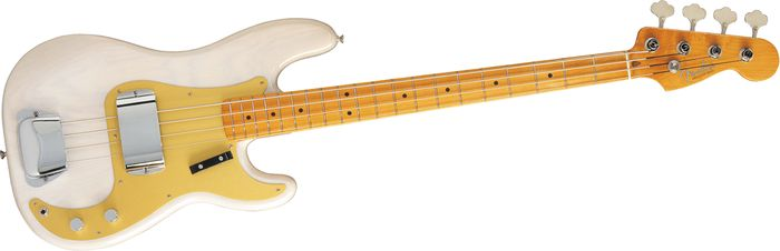 Fender American Vintage '57 Precision Bass White Blonde Ash Maple Fretboard