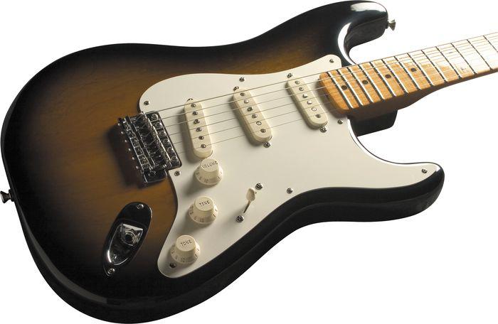 Fender Eric Johnson Stratocaster Electric Guitar Sunburst