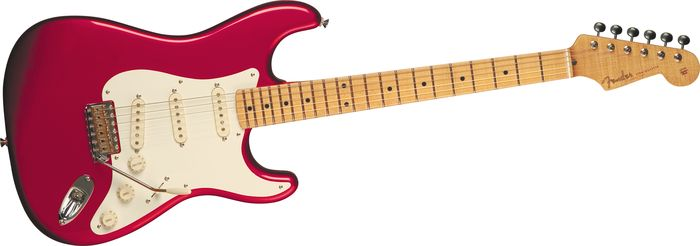 Fender Eric Johnson Strat Candy Apple Red