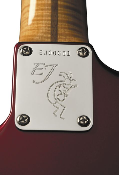 Fender Eric Johnson Stratocaster Heel Signature Plate