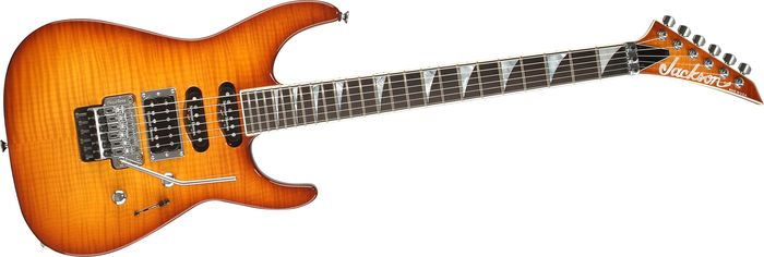 Jackson Sl1 Usa Soloist Electric Guitar Burnt Cherry Burst