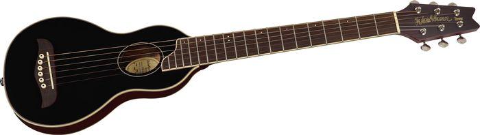 Washburn Rover Travel Guitar Black