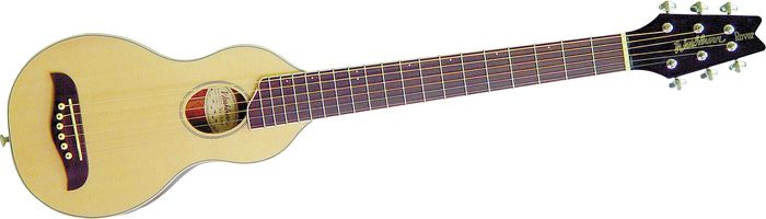 Washburn Rover Travel Guitar Natural Satin