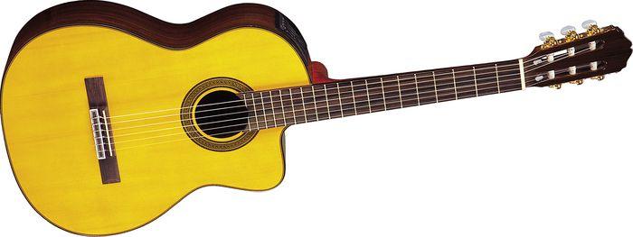 Takamine G Series Eg128sc Electric Classical Guitar Natural